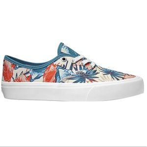 New Vans Tropical Floral Leaf
